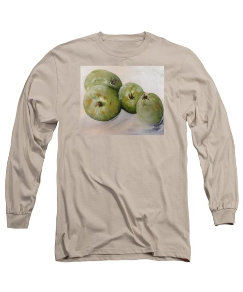 Green Apples Long Sleeve T-Shirt