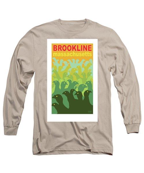 Green Fields Of Brookline Long Sleeve T-Shirt