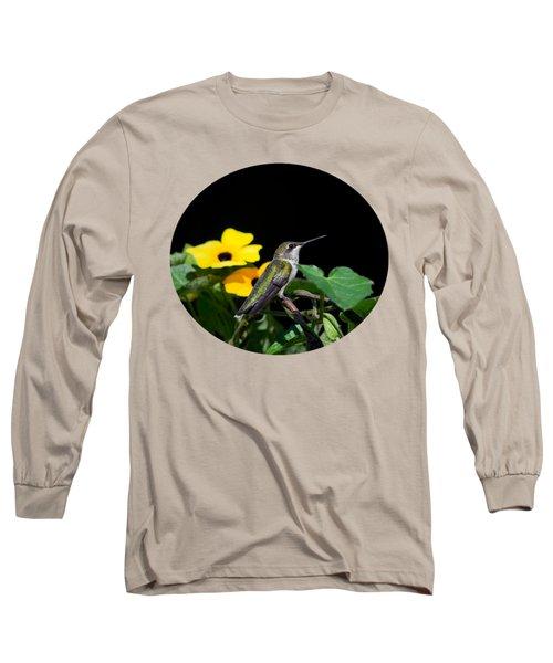 Green Garden Jewel Long Sleeve T-Shirt