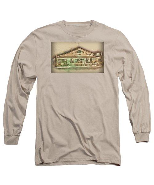 Green Parrot Long Sleeve T-Shirt by Scott Meyer