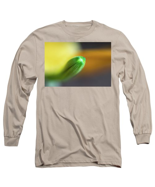 Green Tip Long Sleeve T-Shirt by Deborah Scannell