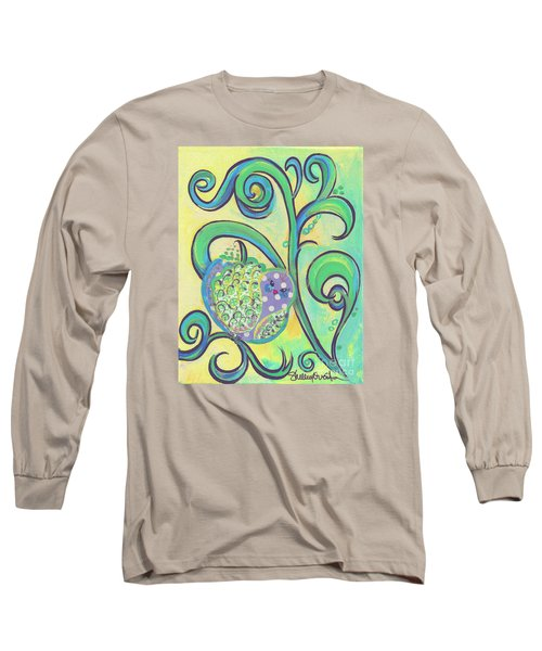 Greenbriar Birdy Long Sleeve T-Shirt by Shelley Overton