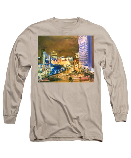 Greengate, Salford, Manchester At Night Long Sleeve T-Shirt