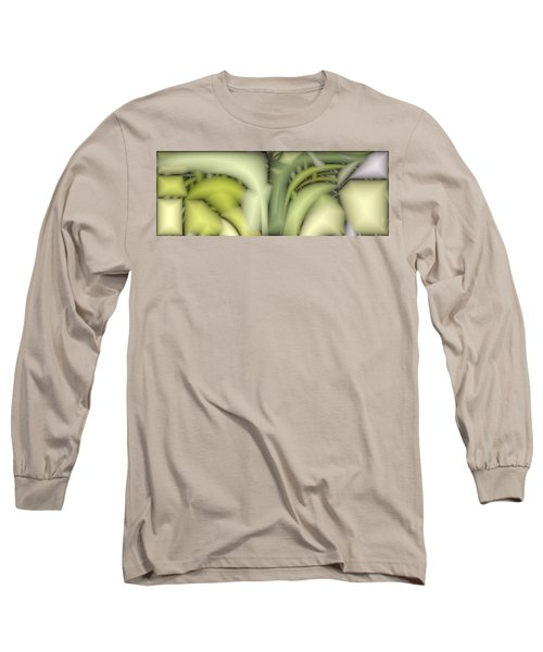 Greens Long Sleeve T-Shirt by Ron Bissett