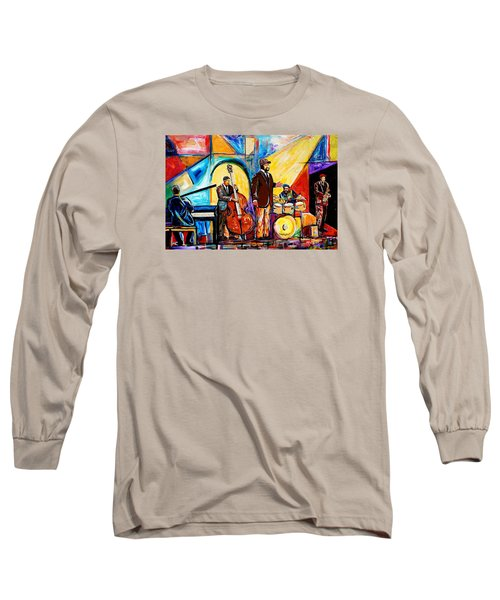 Gregory Porter And Band Long Sleeve T-Shirt by Everett Spruill