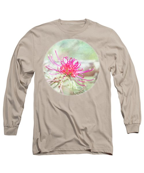 Grevillea Long Sleeve T-Shirt by Linda Lees