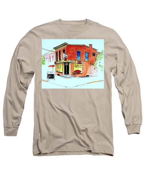 Grodzicki's Market Long Sleeve T-Shirt by William Renzulli