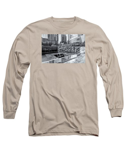 Long Sleeve T-Shirt featuring the photograph Ground Zero by Sabine Edrissi