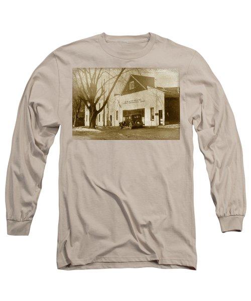 Grumman Baldwin Garage Long Sleeve T-Shirt