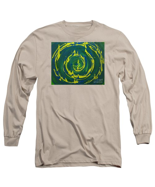 Guacamole Swirl Long Sleeve T-Shirt