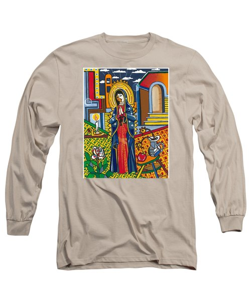 Guadalupe Visits Picasso Long Sleeve T-Shirt