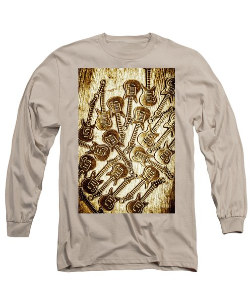 Guitar Echo Chamber Long Sleeve T-Shirt