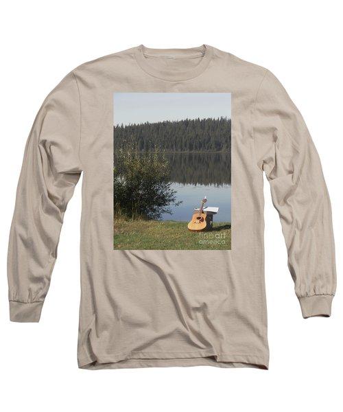 Guitar Lake Long Sleeve T-Shirt