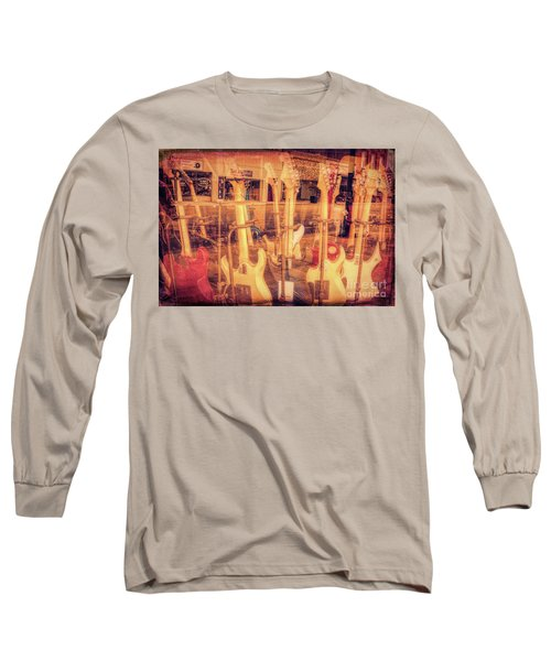 Guitar Reflections Long Sleeve T-Shirt