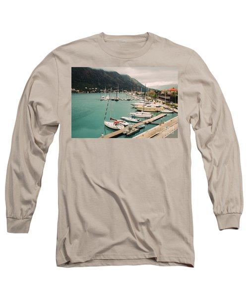Gulf Of Kotor Long Sleeve T-Shirt
