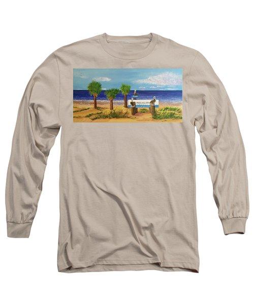 Gulf Shore Welcome Long Sleeve T-Shirt