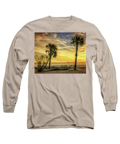 Gulfport Sunset Long Sleeve T-Shirt