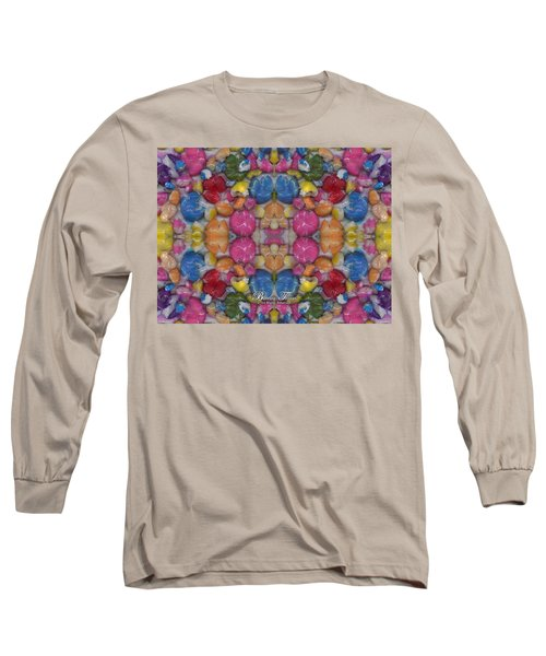 Gumballs #0000a_2 Long Sleeve T-Shirt by Barbara Tristan