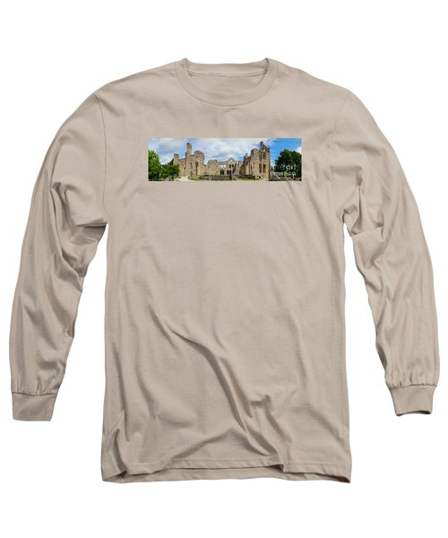 Ha Ha Tonka Castle Panorama Long Sleeve T-Shirt