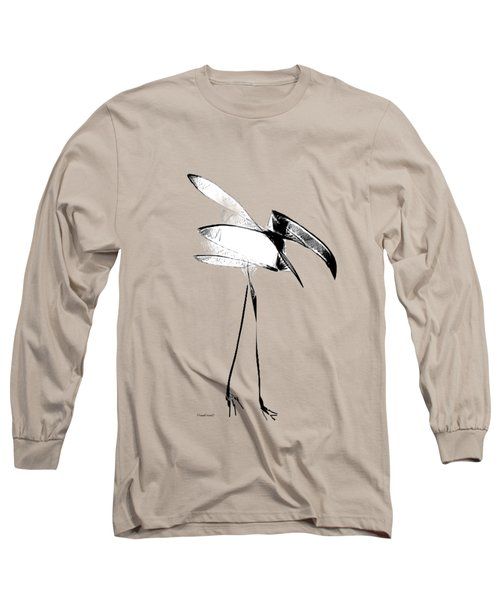 Long Sleeve T-Shirt featuring the digital art Haggard by Asok Mukhopadhyay