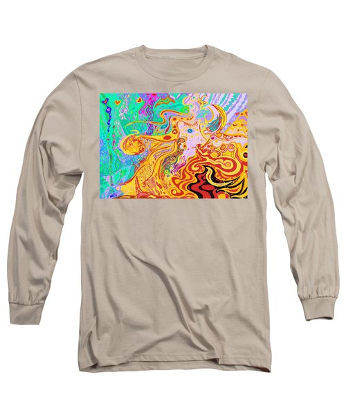 Hair Of The Divine Universe Long Sleeve T-Shirt