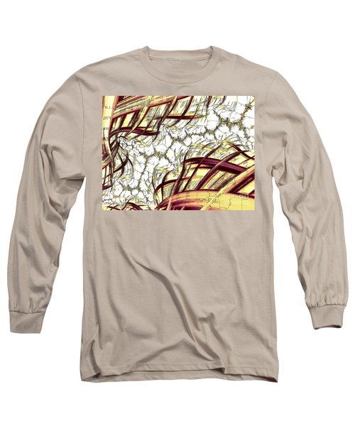 Hairline Fracture Long Sleeve T-Shirt