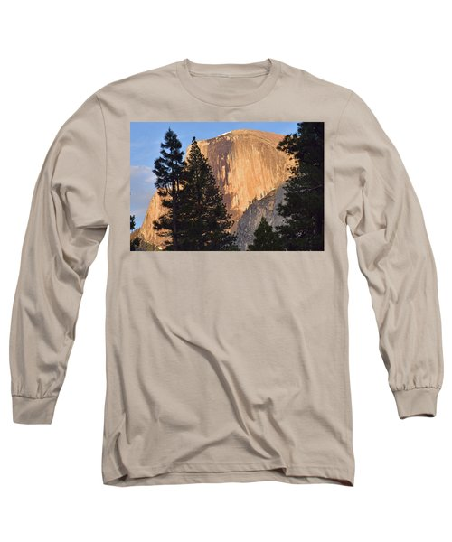 Half Dome Sunset Long Sleeve T-Shirt