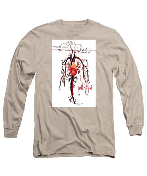 Hallelujah  Long Sleeve T-Shirt by Sladjana Lazarevic