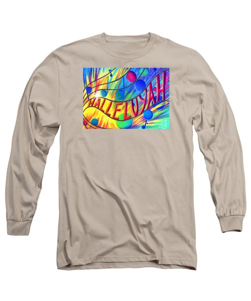 Halleluyah Long Sleeve T-Shirt by Nancy Cupp