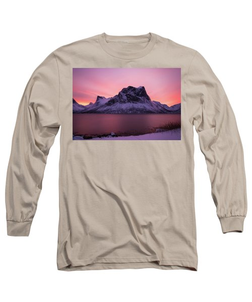 Halo In Pink Long Sleeve T-Shirt