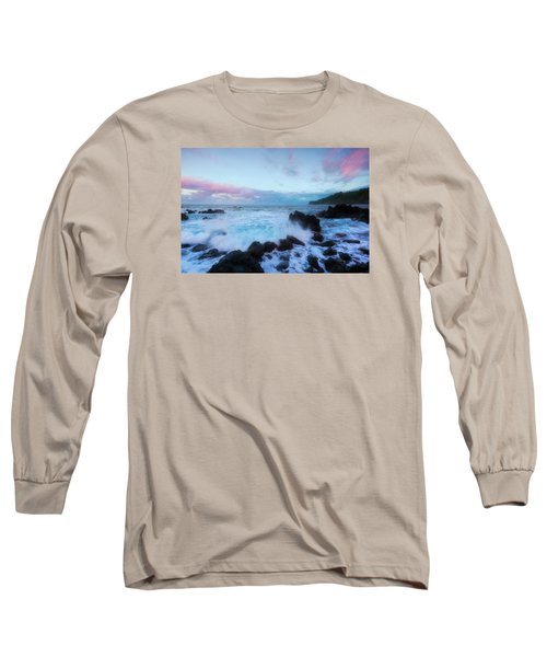 Hamakua Sunset Long Sleeve T-Shirt by Ryan Manuel