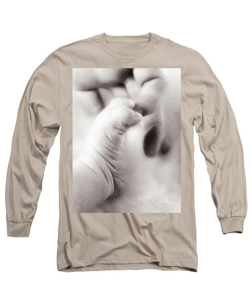 Hand And Foot Long Sleeve T-Shirt