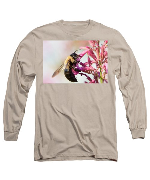 Long Sleeve T-Shirt featuring the photograph Hang In There by Brian Hale