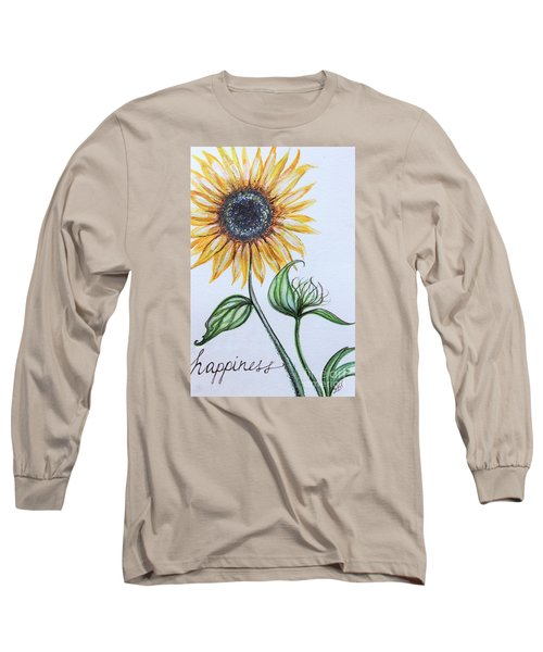 Happiness Long Sleeve T-Shirt by Elizabeth Robinette Tyndall