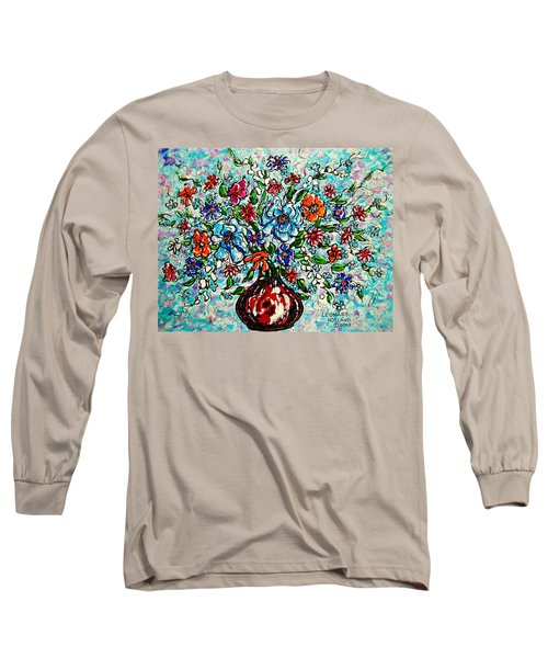 Happy Bouquet Long Sleeve T-Shirt