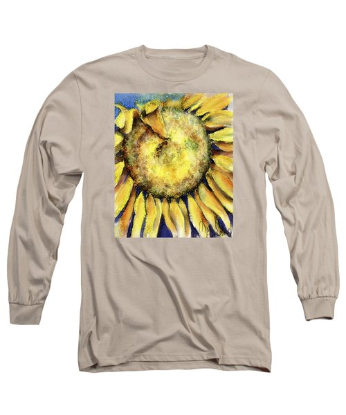 Long Sleeve T-Shirt featuring the painting Happy Day by Annette Berglund