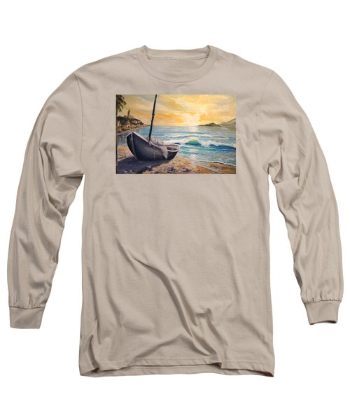 Happy Hour Long Sleeve T-Shirt by Alan Lakin