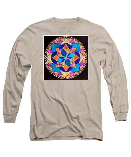 Happy Mandala  Long Sleeve T-Shirt