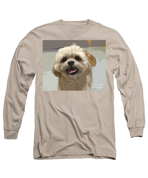 Happy Shih Tzu Long Sleeve T-Shirt