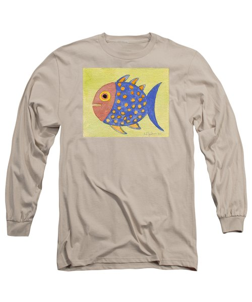 Happy Speckled Fish Long Sleeve T-Shirt