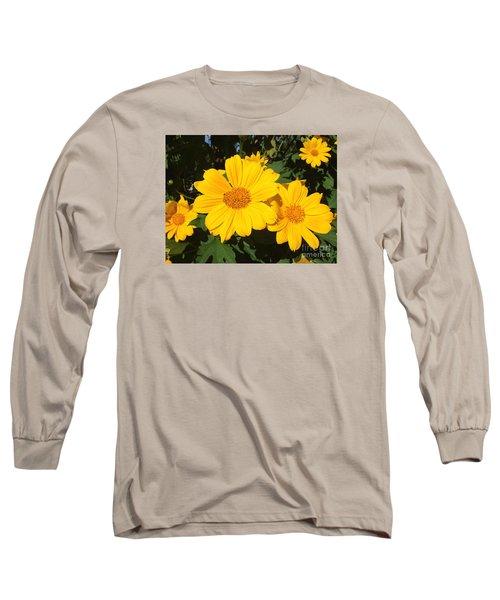 Happy Yellow Long Sleeve T-Shirt