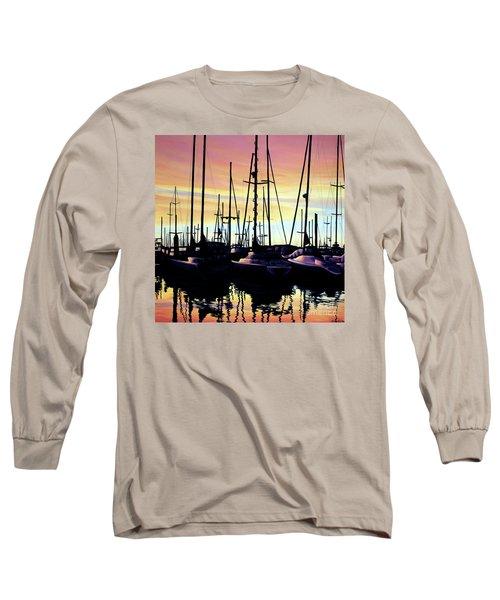 Harbor Sunset Long Sleeve T-Shirt