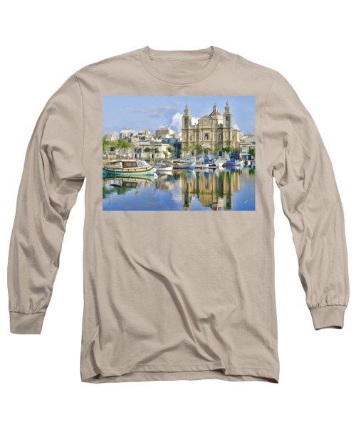Harborside Msida Malta Long Sleeve T-Shirt