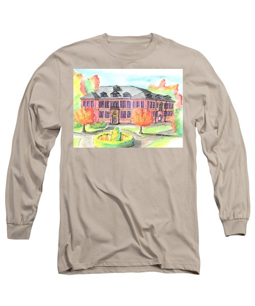 Hardie Building Beverly Long Sleeve T-Shirt by Paul Meinerth
