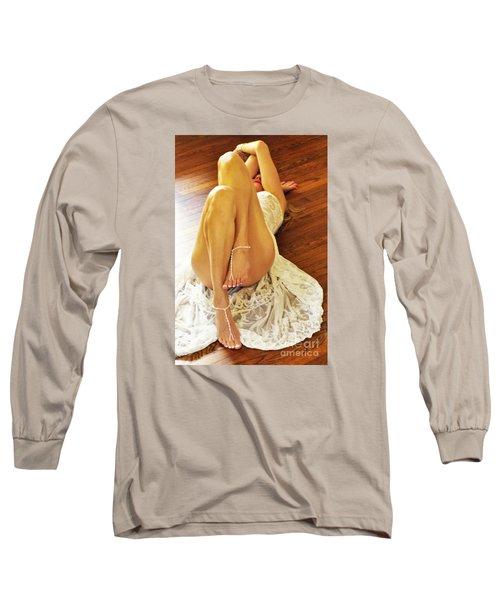 Hardwood Long Sleeve T-Shirt by Marat Essex