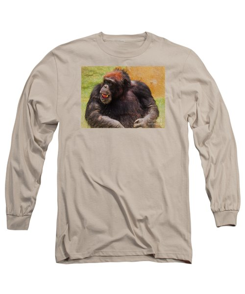 Long Sleeve T-Shirt featuring the painting Harry by Judy Kay
