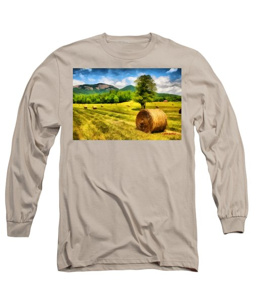 Harvest At Table Rock Long Sleeve T-Shirt by Lynne Jenkins
