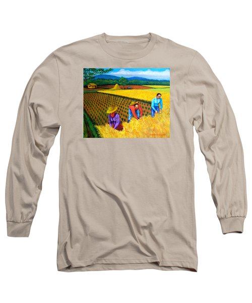 Harvest Season Long Sleeve T-Shirt by Cyril Maza