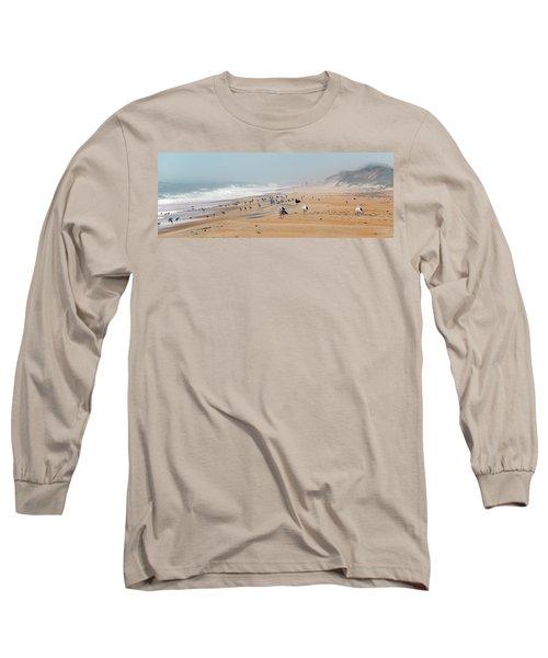 Hatteras Island Beach Long Sleeve T-Shirt