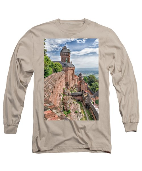 Long Sleeve T-Shirt featuring the photograph Haut-koenigsbourg by Alan Toepfer